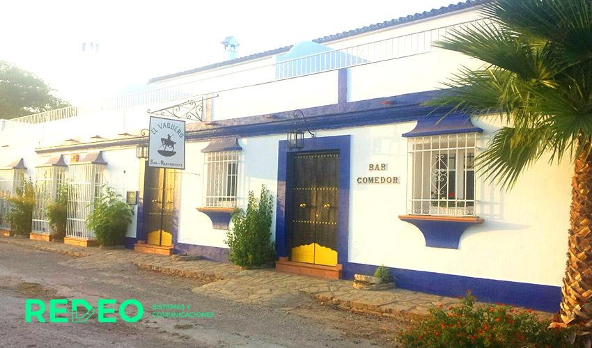 Instalación TPV táctil + Software hostelería en El Vaquero Bar-Restaurante