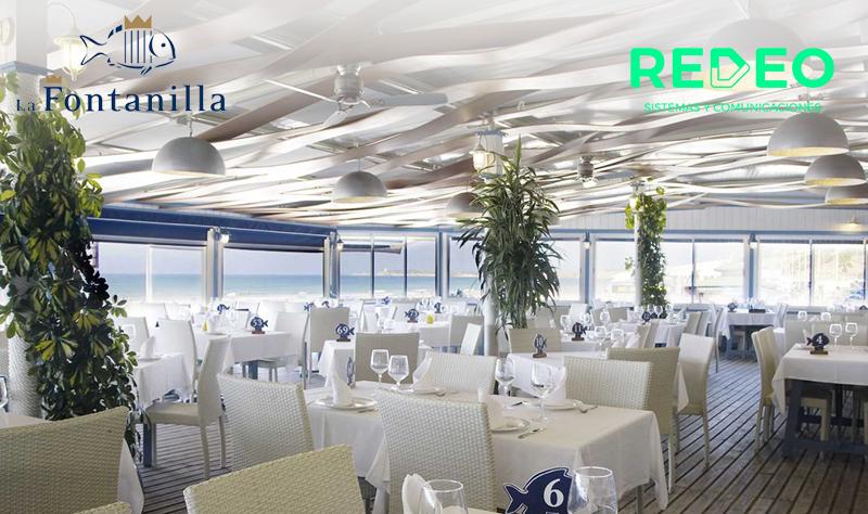 Instalación Software Hostelería en restaurante La Fontanilla